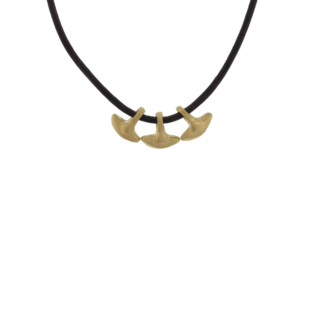 A Triple Anchor Pendant
