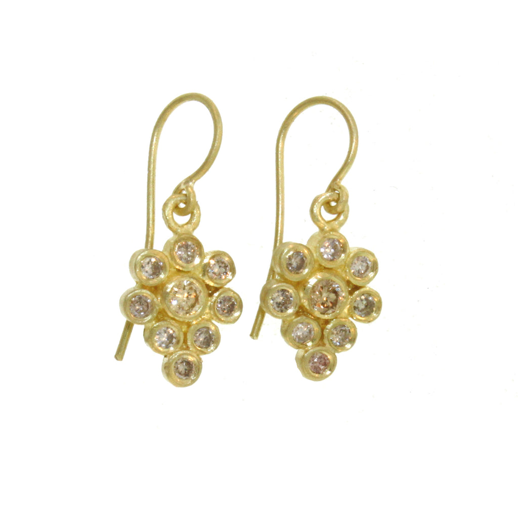 The Diamond Paisley Earring