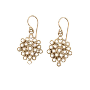 The Diamond Honeycomb Earring