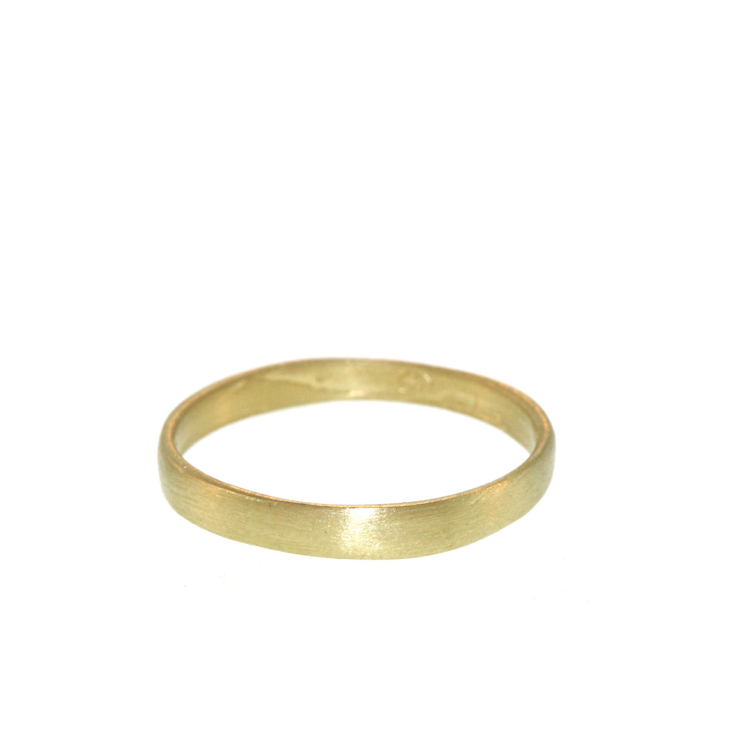 The Classic Band in Yellow Gold, For Men, 2mm