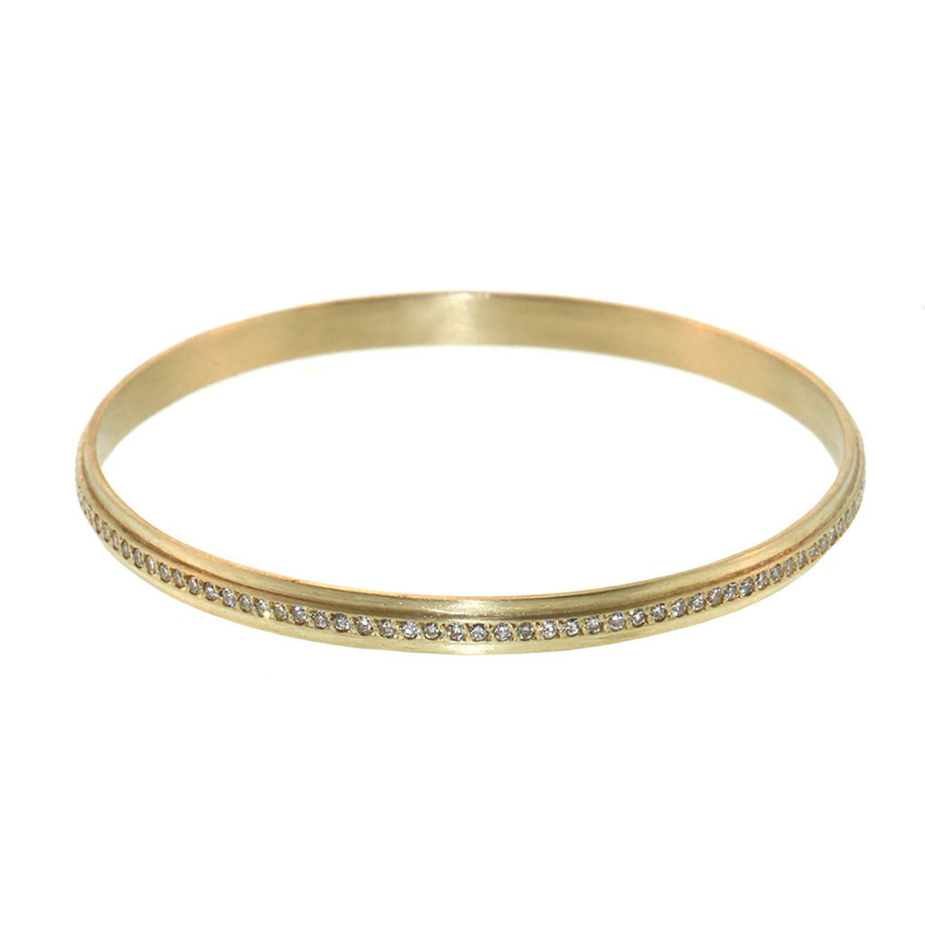 The Diamond Striped Bangle