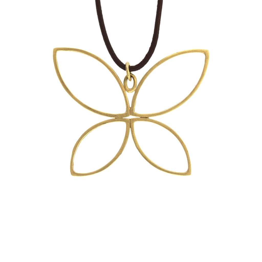 The Open Butterfly Pendant