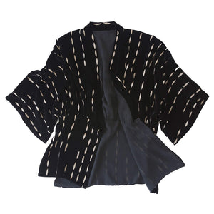 Charis Silk Cut Velvet  Bed Jacket