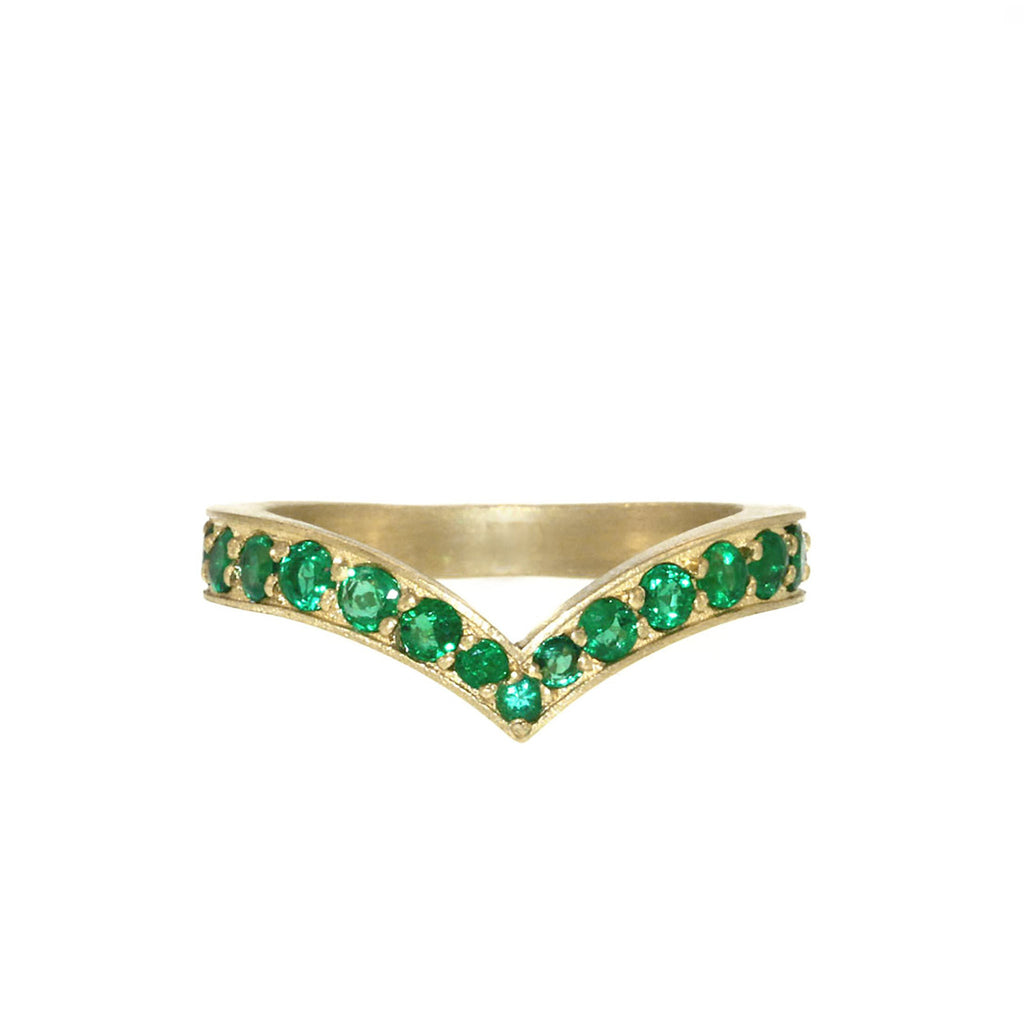 The Emerald Peregrine Ring