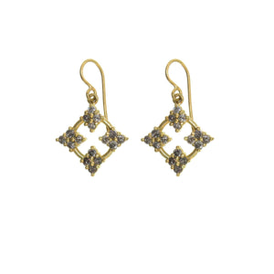 The Diamond Genevieve Earring