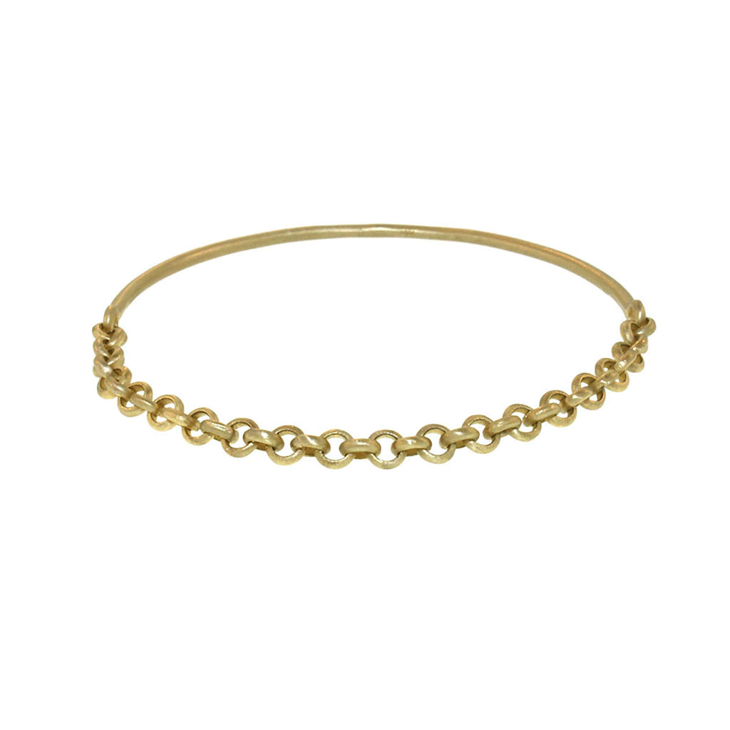 The Half Chain Bangle