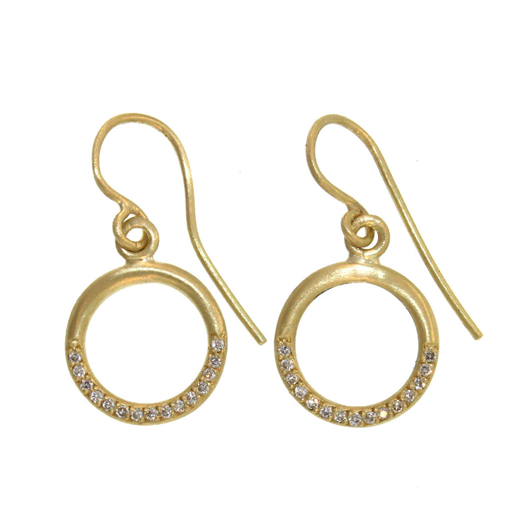 The Half-Diamond Orianna Earrings