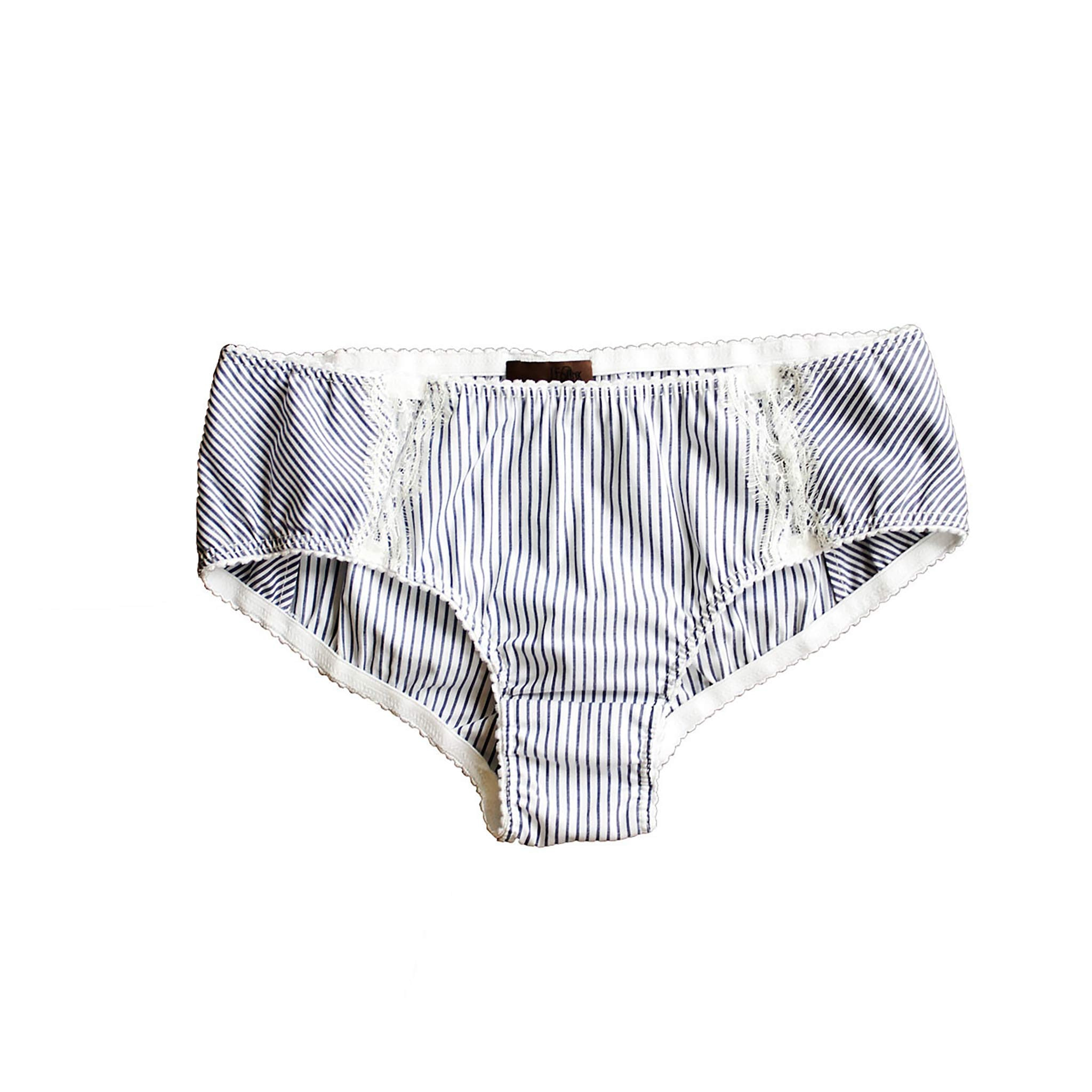 Hera Brief in Striped Stetch Cotton