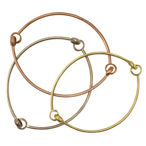 The Double Hinged Bangle
