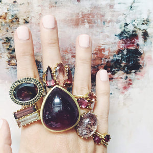 The Double Baguette Tourmaline Ring
