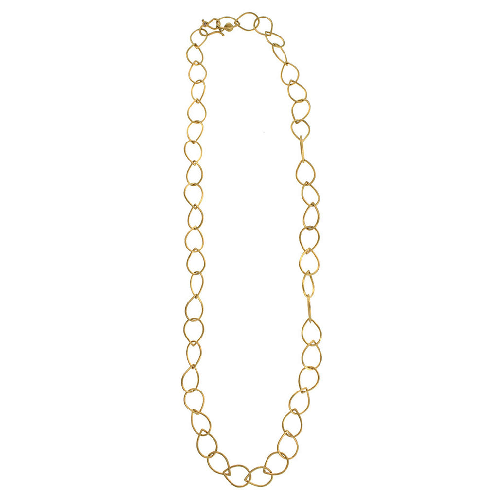 Pear Link Necklace