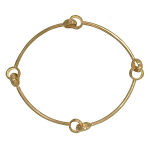 The Quad Hinged Bangle