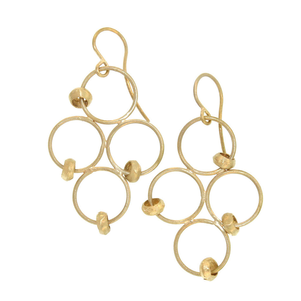 The Clover Drop Earring