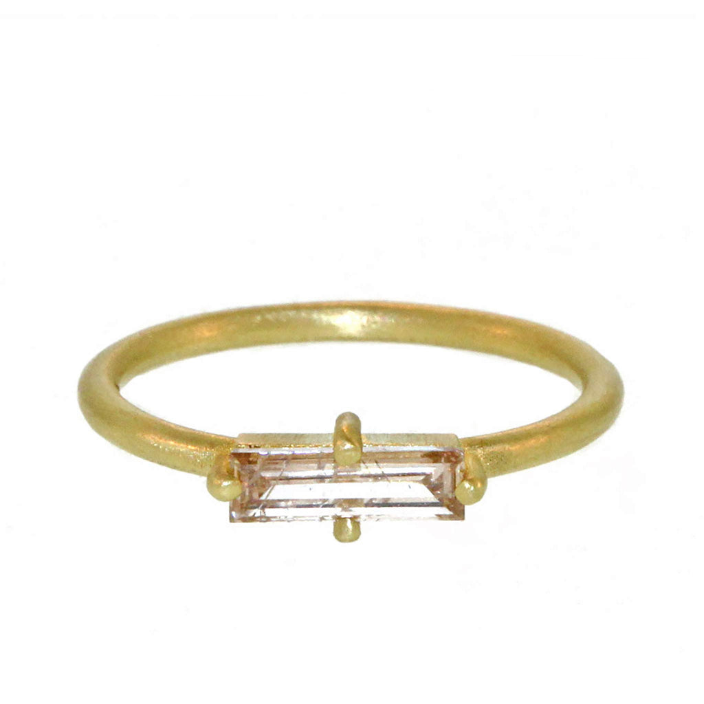 The Slim Diamond Baguette Ring