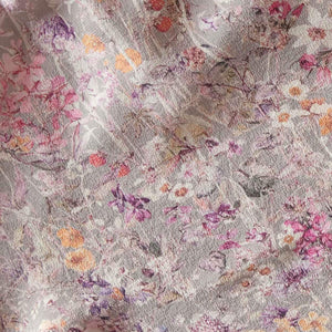 Sita Knickers in Silver Wildflowers Liberty Print Silk Crepe de Chine