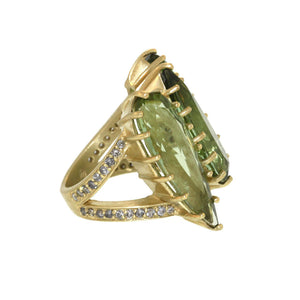 The Tourmaline Monarch Ring
