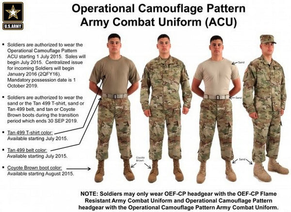2015 Army Combat Uniform