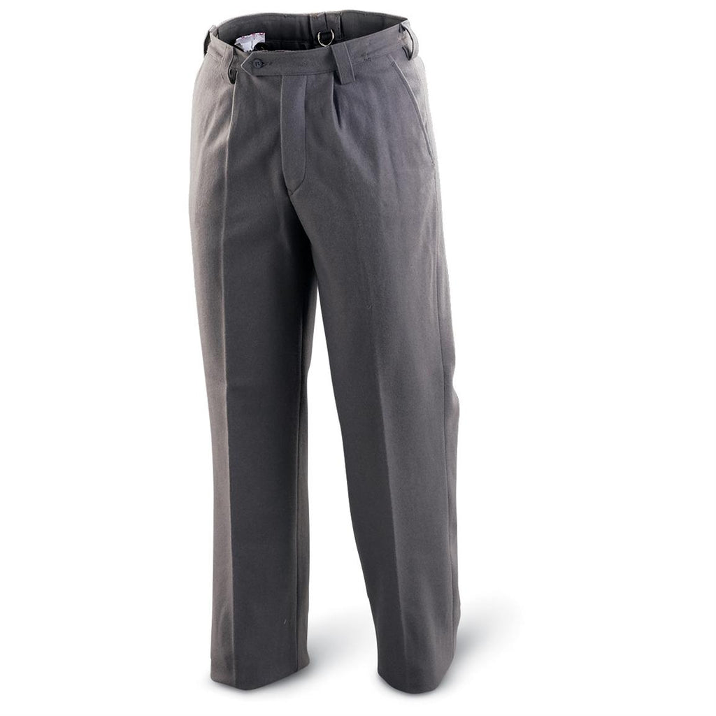 Gray Wool Pants