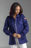 Ladies Navy Blue Military Style Shirt