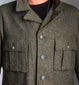 WWII Era 6-Pocket Wool Battle Field Jacket