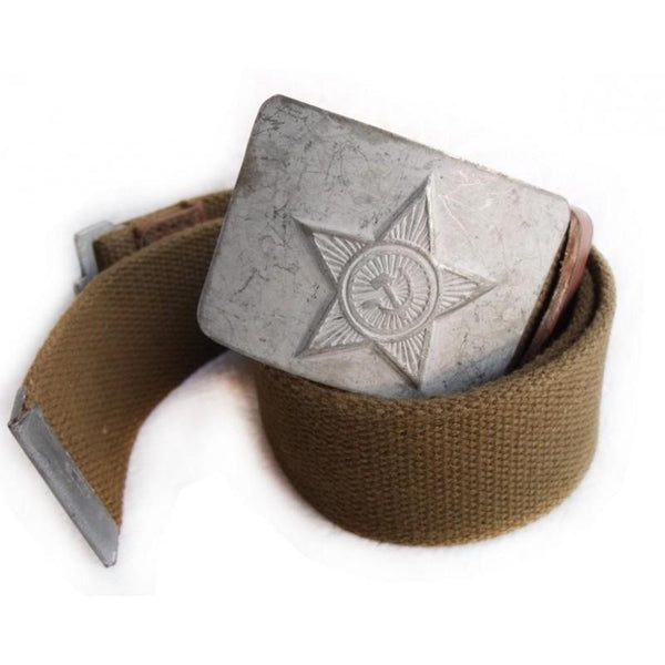 Soviet Tank Commander Canvas Combat Belt