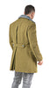 Redesigned Eastern Bloc Military Khaki Overcoat