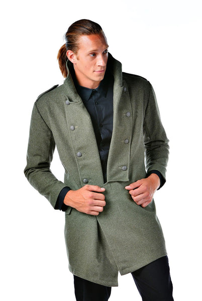 Re-Designed WWII Era European Overcoat