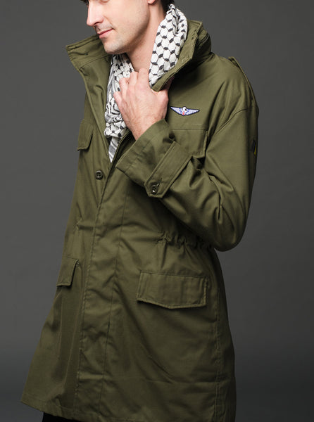 Mandarin Collar Style Lightweight Fatigue M88 Jacket