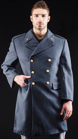 Blue-Gray Overcoat