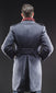 Blue Gray Air Force Officer Ovecoat