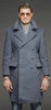 Blue Grey Air Force Officer Ovecoat