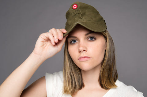 Ladies' Military Fatigue Summer Hat