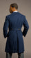Double Cuffed Royal Blue Overcoat