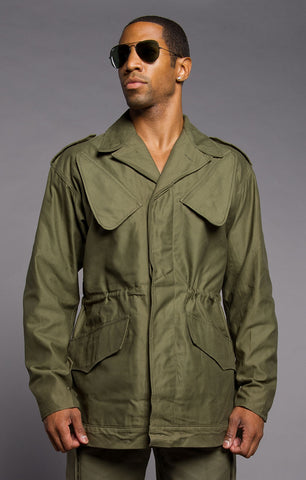 Slant Pocket Army Field Jacket