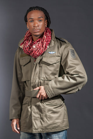 Dark Olive European Version Classic M65 Jacket Version