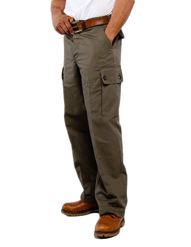Army Green Classic Cargo Pants