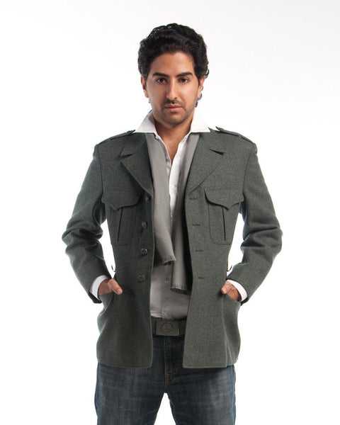 Single Breasted  Wool Jacket