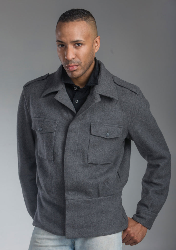 Nordic Army Gray M65 Wool Jacket