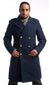 Royal Blue Air Force Officer Coat