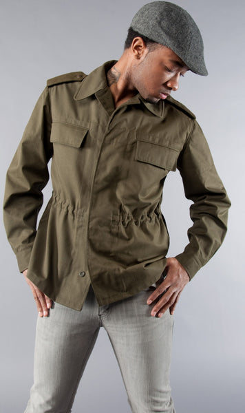 Army Green Field Jacket