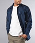 Navy Deck Zip-up Jacket