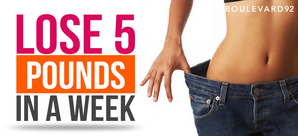 LOSE 5 POUNDS IN A WEEK!