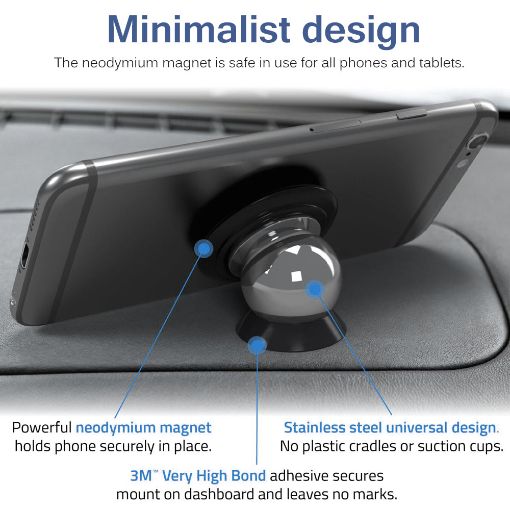 The PHRONE™ - THE 360 DEGREE UNIVERSAL MAGNETIC PHONE HOLDER