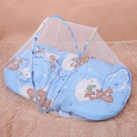 Portable Baby Crib with Mosquito Net