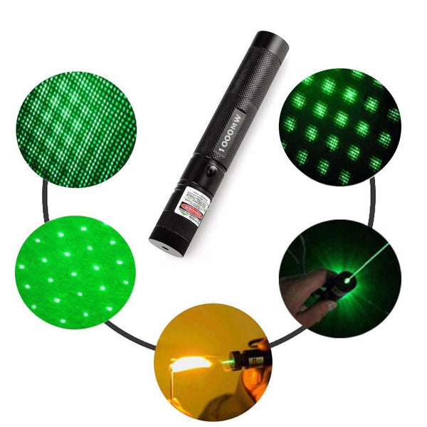 6. Military Grade Green 10000mw Tactical Laser