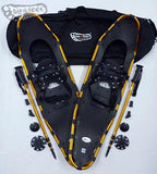 "Adventure 40"" Snowshoes - SOLD OUT! -- only 40"" in Canada & the U.S.-  with Gold Poles & Black Carry-Bag"
