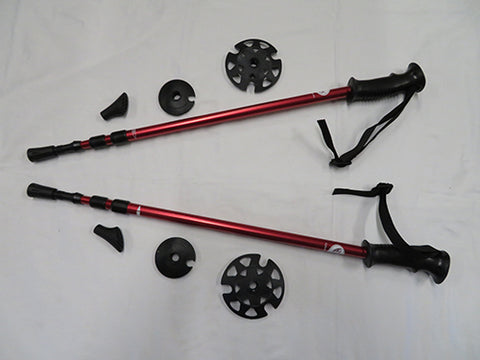 Adventure Poles - Red - SALE - ONLY $30