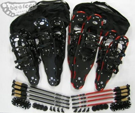 The Elite Family Package  (25 in, 27 in, 30 in, 34 in) with bags & poles !