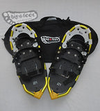 "Huron 21"" Snowshoes (Good for 80-120 lbs) with Black Carry-Bag"