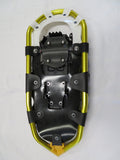 "Huron 21"" Snowshoes (Good for 80-120 lbs) with Yellow Poles & Black Carry-Bag"